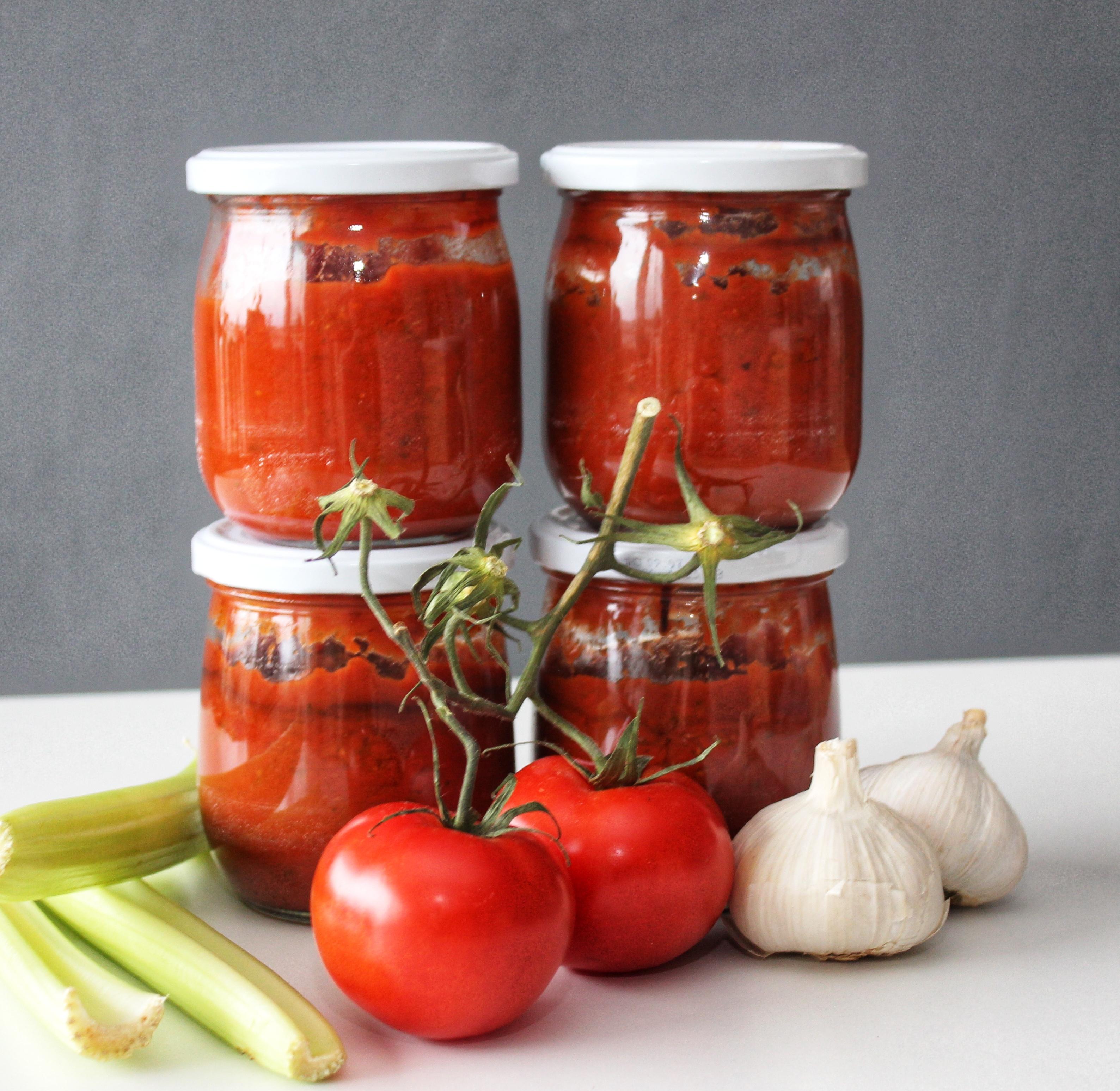 Tomatensauce, Sellerie, Pastaliebe