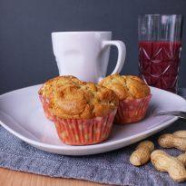 Erdnuss, Erdnussbutter, Muffins, Kuchenliebe, Backen